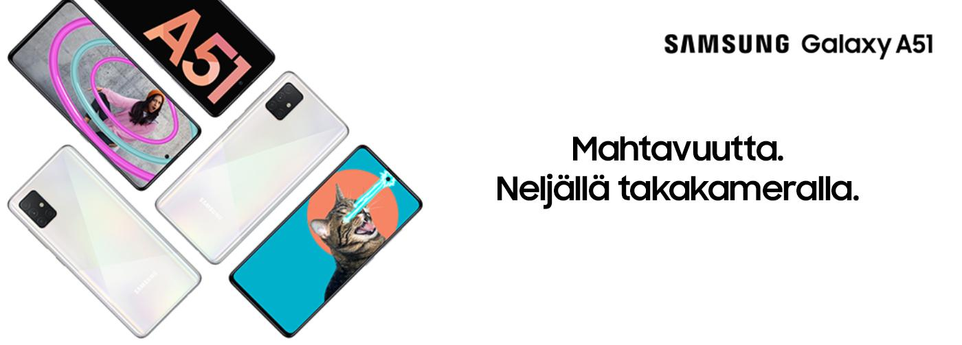 Samsung Galaxy A50 Kokemuksia